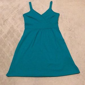 Cynthia Rowley Dresses - Cynthia Rowley teal spring summer dress medium